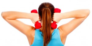exercises for underarm flab